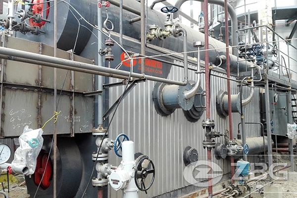 24 Sets of 6 Tons Waste Heat Recovery Boiler Project