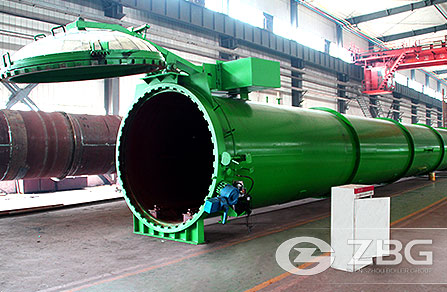 Hydraulic-opening Autoclave