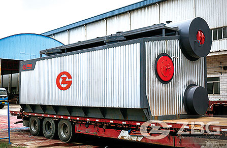SZS Water Tube Oil Hot Water Boiler