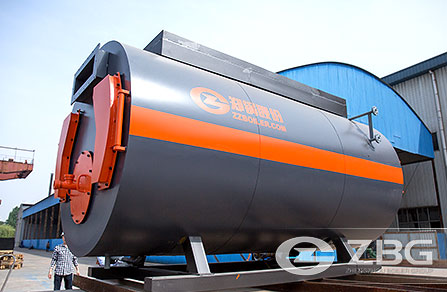 WNS Firetube Oil Steam Boiler